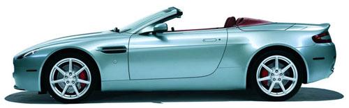 Aston Martin's V8 Vantage Roadster