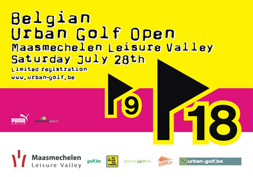Flyer Belgian Urban Golf Open