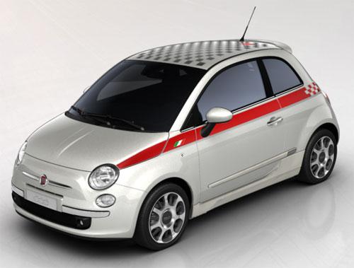 Fiat 500 Sport MkII